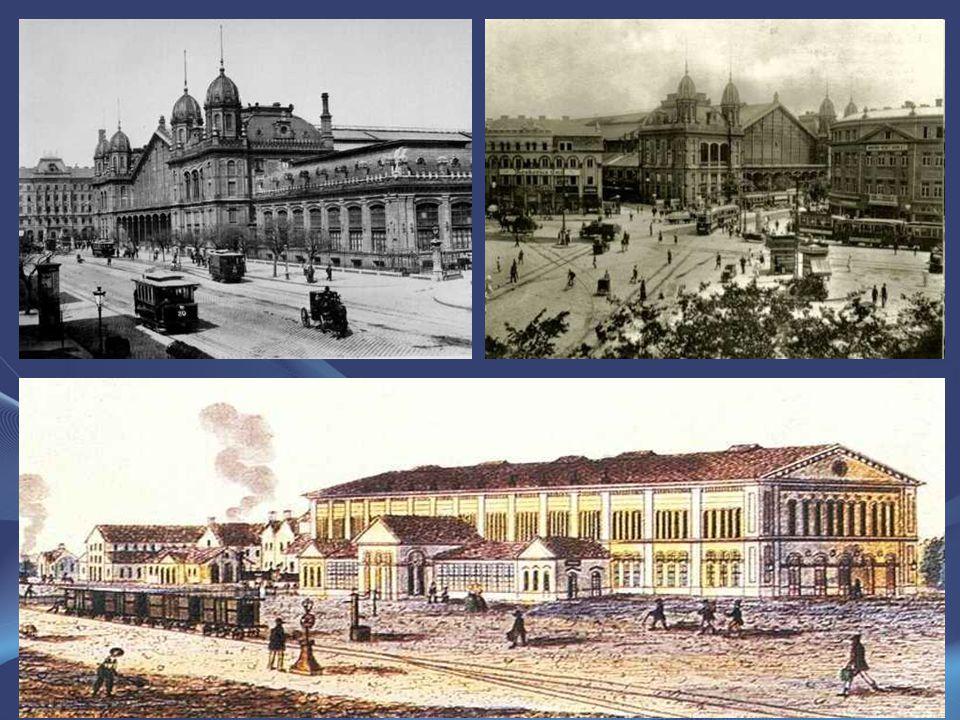 A mai épület közelében eredetileg álló első pályaudvart Pesti indóháznak nevezték. 1846-tól innen indult a Pest és Vác közötti vasút, Magyarország els