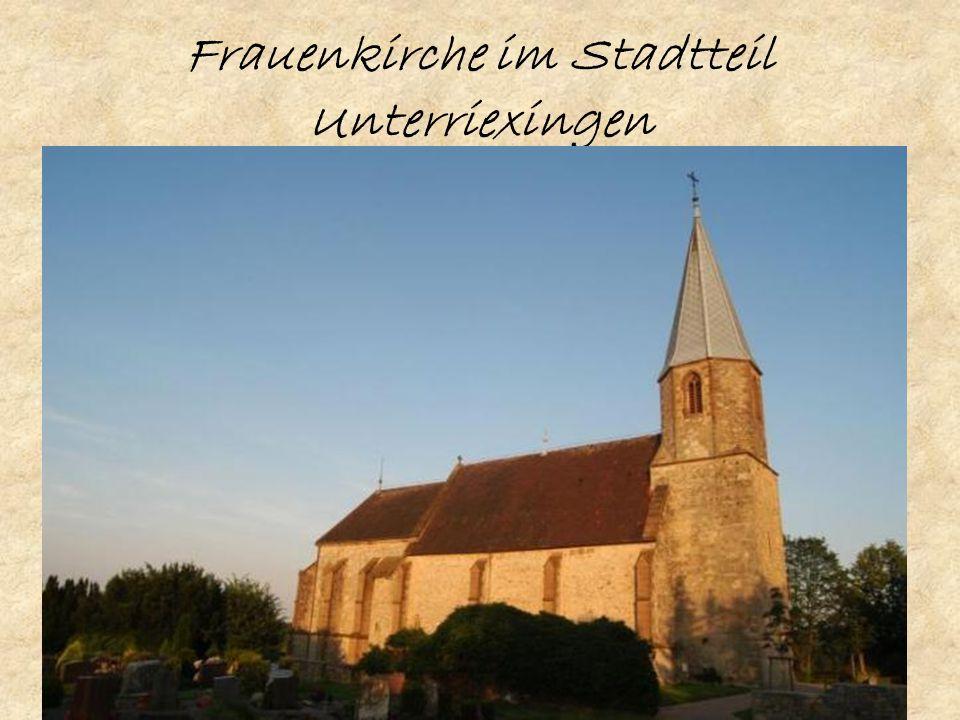 Frauenkirche im Stadtteil Unterriexingen