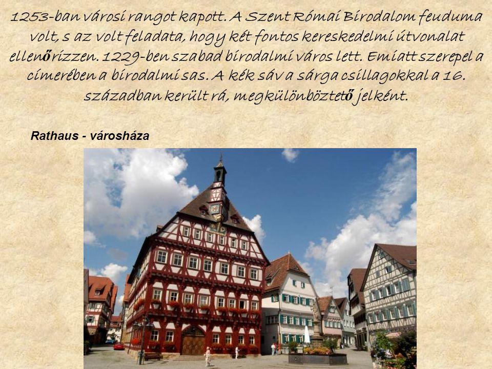 1253-ban városi rangot kapott.