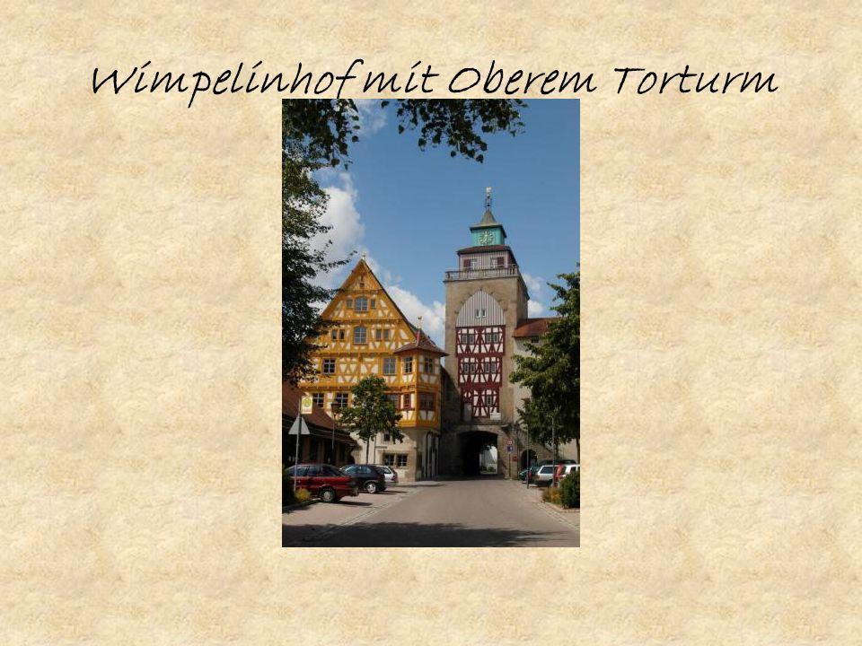 Wimpelinhof mit Oberem Torturm