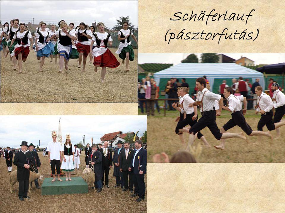Schäferlauf (pásztorfutás)