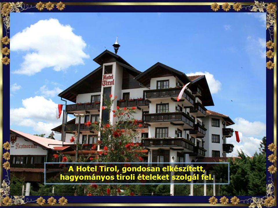 A tágas és szép szállodákban, mint például a Park Hotelban, első osztályú minőségi kiszolgálásban részesülnek a vendégek.