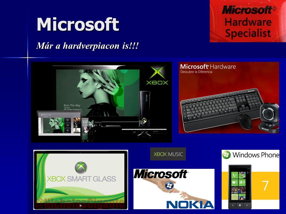 Microsoft Már a hardverpiacon is!!!