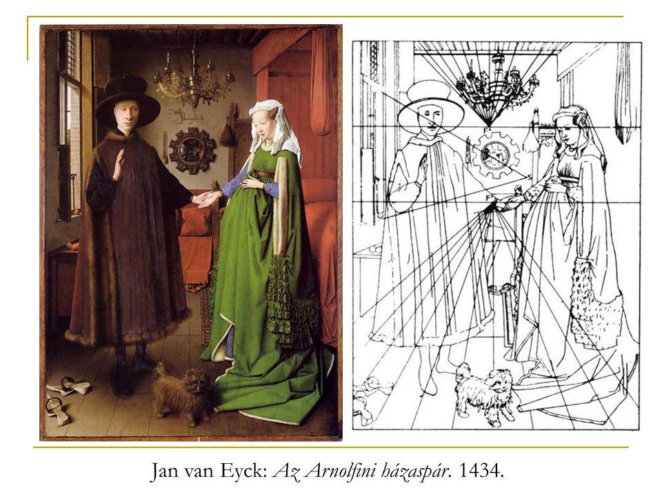 Jan van Eyck: Az Arnolfini házaspár. 1434.