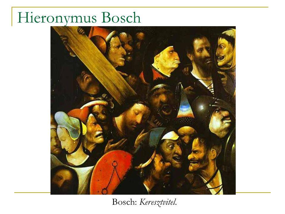 Hieronymus Bosch Bosch: Keresztvitel.