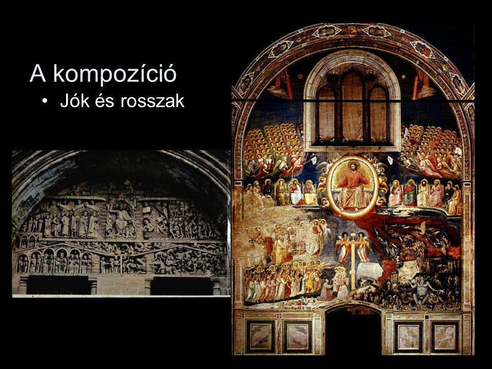 A kompozíció •Jók és rosszak
