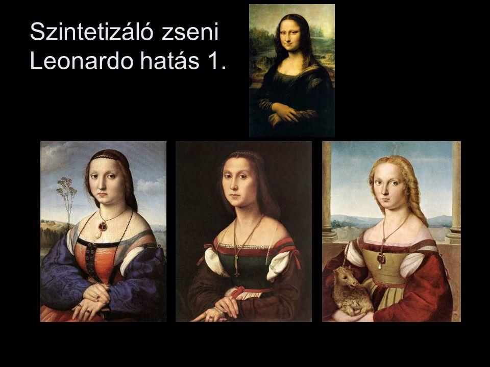 Szintetizáló zseni Leonardo hatás 1.