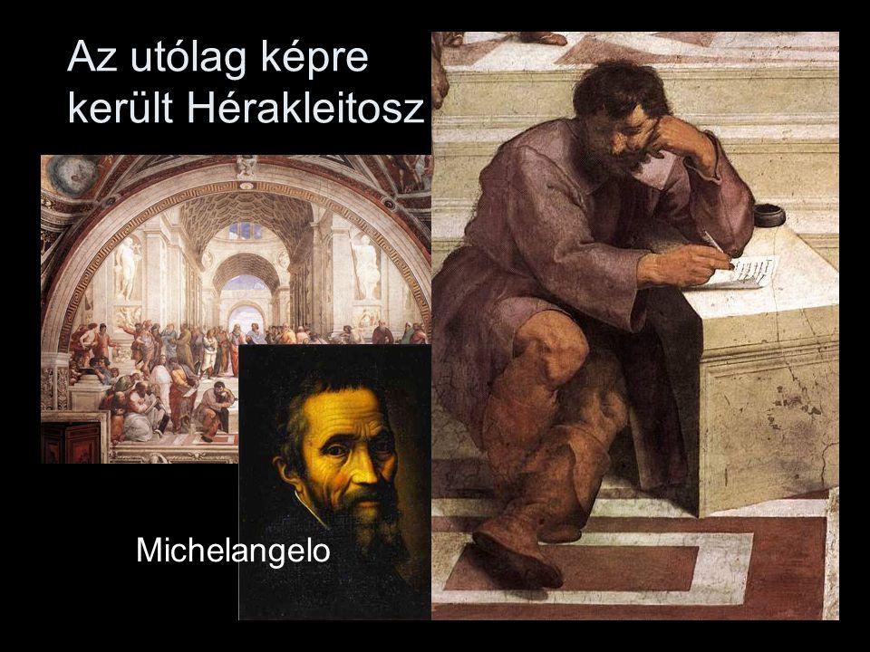 Az utólag képre került Hérakleitosz Michelangelo
