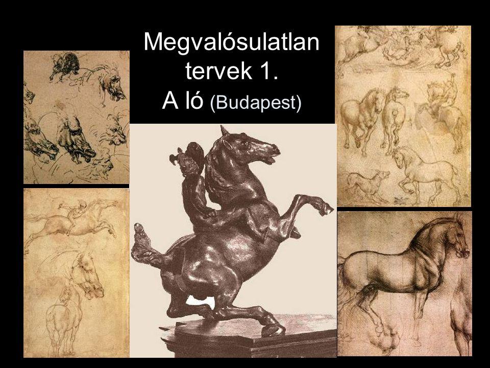 Megvalósulatlan tervek 1. A ló (Budapest)
