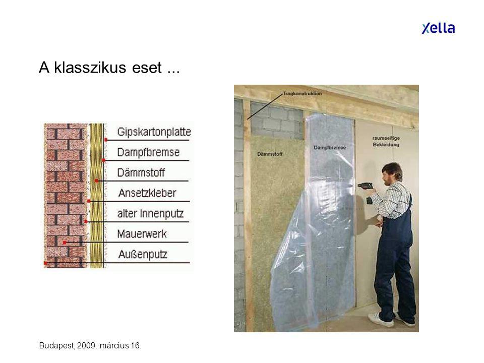 Budapest, 2009. március 16. A klasszikus eset...