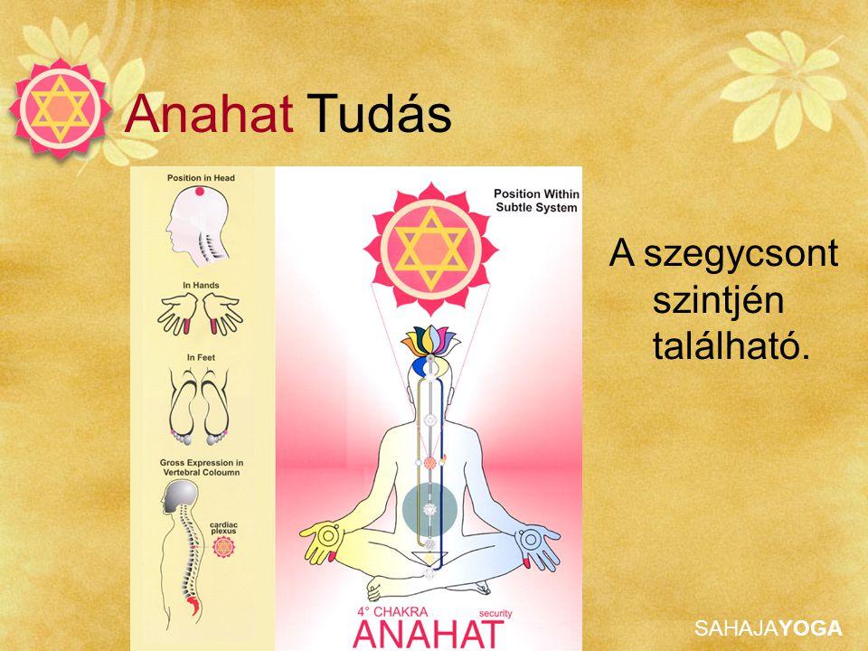 SAHAJAYOGA Anahat Tudás A Szív Chakra tulajdonságai: • A tiszta szeretet amely mindent megvilágít.