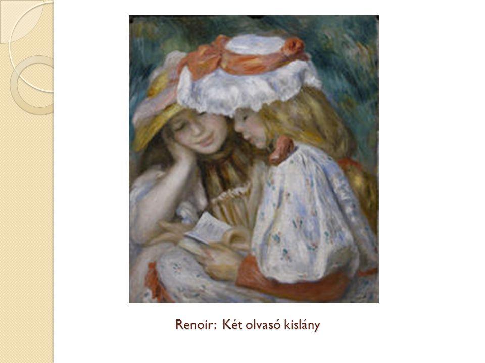 Renoir: Két olvasó kislány