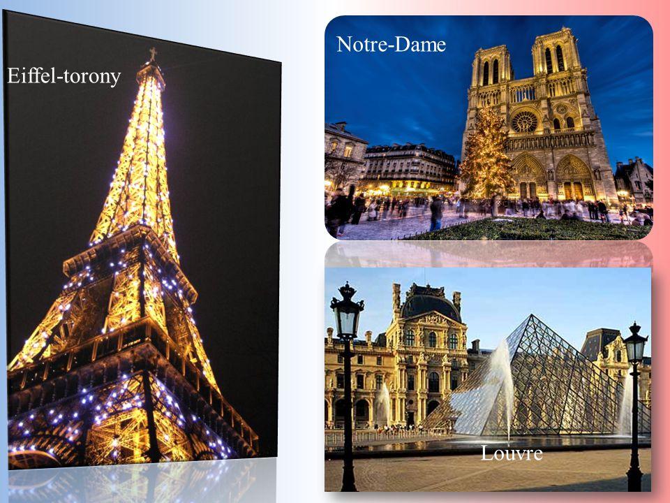 Louvre Notre-Dame Eiffel-torony