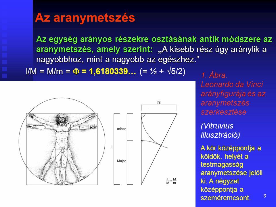 """8 """" Az arányosság minden műben a tagok mértékegységének és az egésznek egymáshoz való mérése, amelyből a szimmetriák rendje jön létre."""