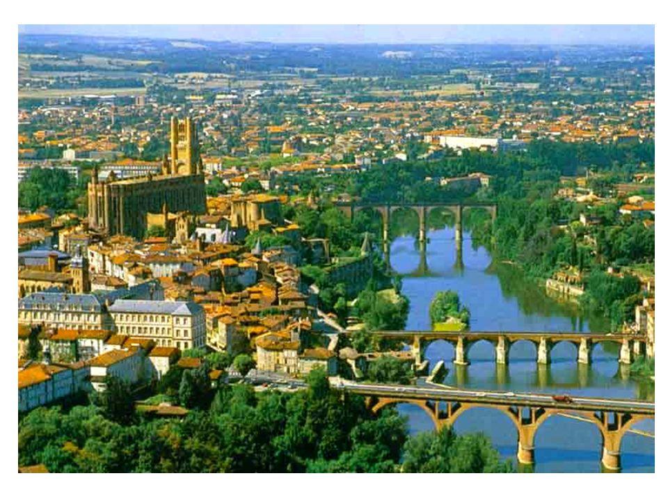 Albi város délnyugat Franciaországban Zene hállgatáshoz kattints az ikonra