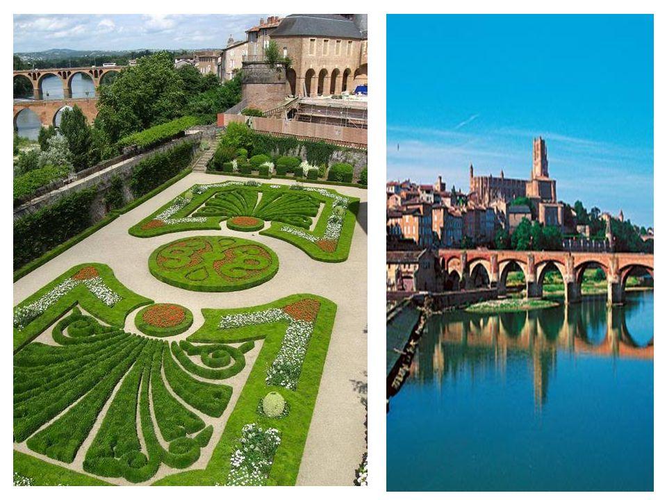 A délnyugat franciaországi Albi városban található a lenyűgöző hatású, vöröstéglás St.Cécile katedrális a 13-14. századból és a város nagy szülötte, H