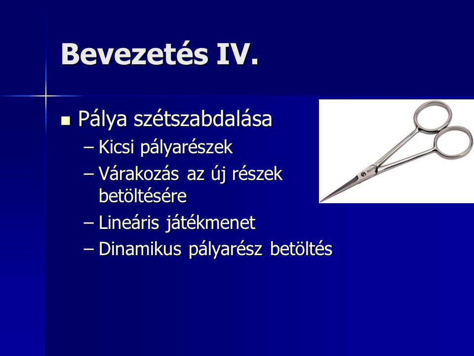 Bevezetés IV.