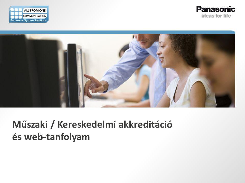 Műszaki / Kereskedelmi akkreditáció és web-tanfolyam