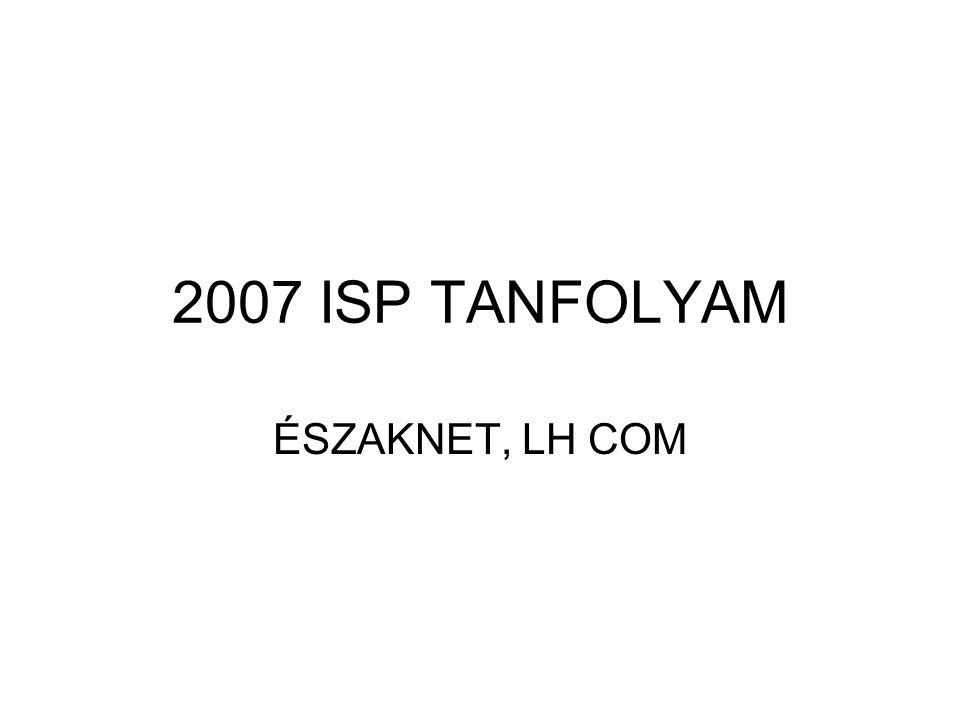 2007 ISP TANFOLYAM ÉSZAKNET, LH COM