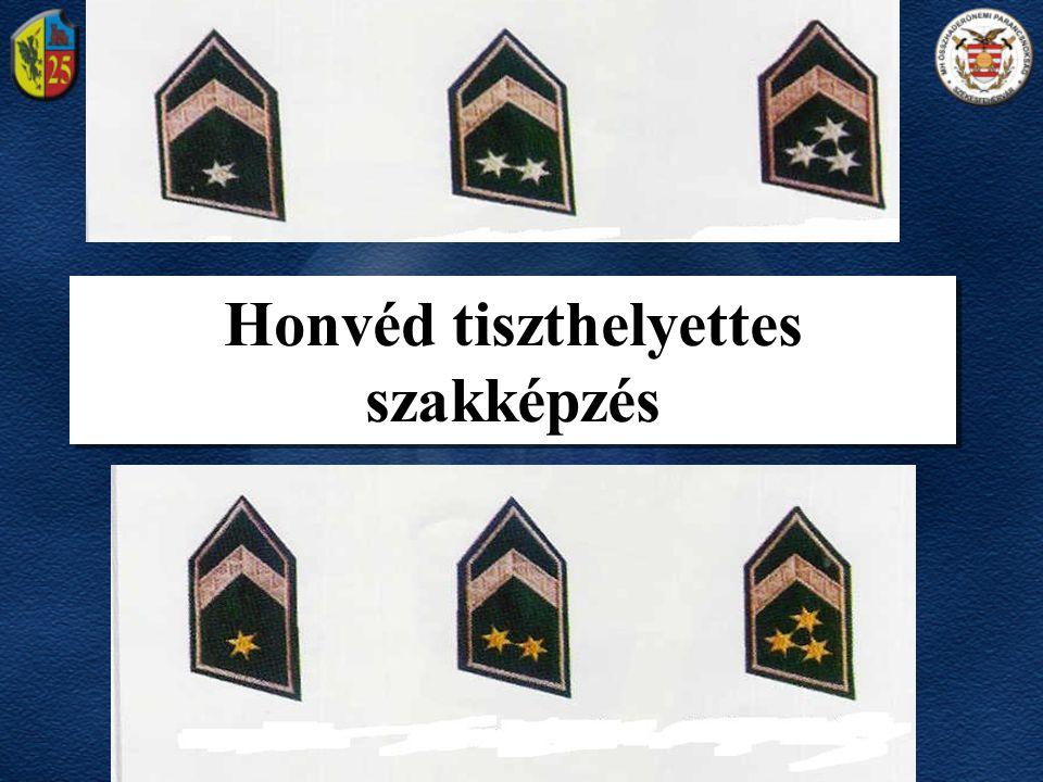 Honvéd tiszthelyettes szakképzés