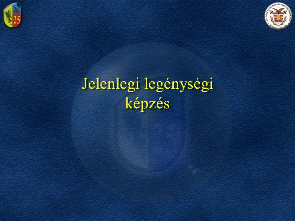 Örvezető Tizedes ALAPKIKÉPZÉS SZAKALAPOZÓ Szakaszvezető ŐRMESTER