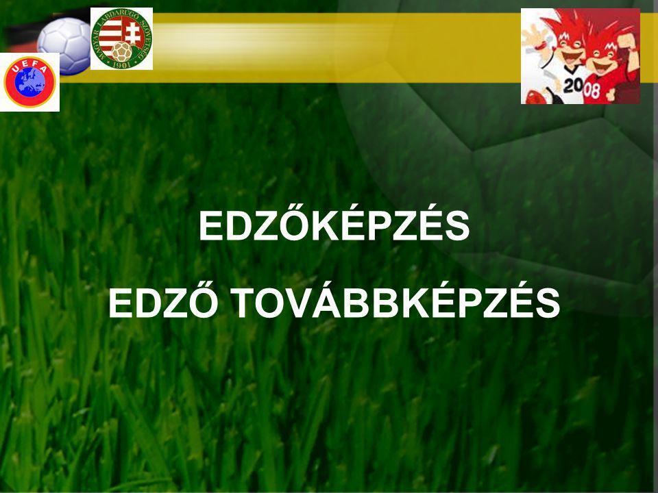 """MAI HELYZET EDZŐKÉPZÉS EDZŐK TOVÁBBKÉPZÉSE MLSZ """"D"""" TANFOLYAM UEFA """"RPO TANFOLYAM UEFA """"A TANFOLYAM UEFA """"B"""" TANFOLYAM Központi szervezés (MLSZ) UEFA EDZŐKÉPZÉS megye m régió UEFA """"B + MLSZ """"D TOVÁBBKÉPZÉS TF SZERVEZÉS EDZŐI OKTATÓI ÁLLAMI EDZŐKÉPZÉS MAGYAR LABDARÚGÓ EZŐK KÉPZÉSE ÉS TOVÁBBKÉPZÉSE UEFA """"RPO + UEFA """"A"""
