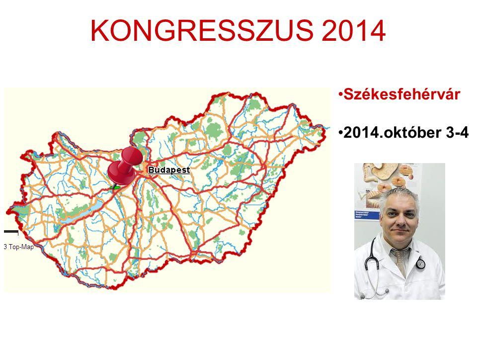 KONGRESSZUS 2014 •Székesfehérvár •2014.október 3-4
