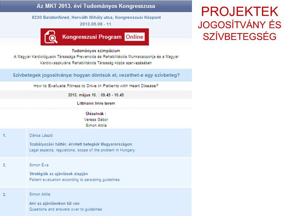 RENDEZVÉNYEK SZÍVSEBÉSZ-REHABILITÁTOR KEREKASZTAL (Budapest 2013. 11. 22.)