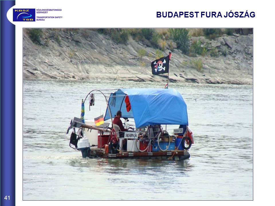 41 BUDAPEST FURA JÓSZÁG