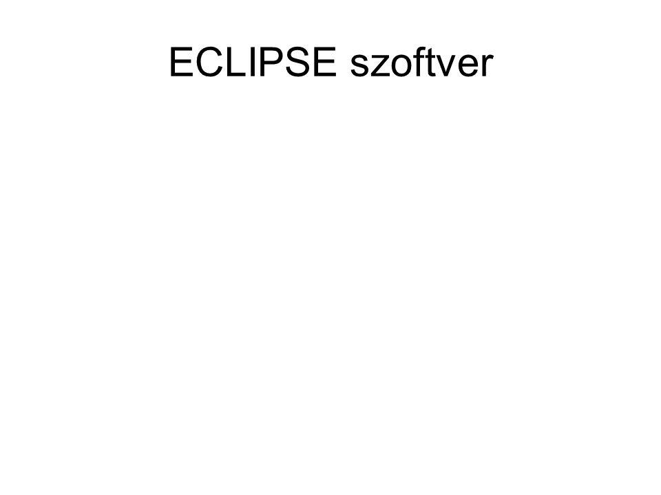 ECLIPSE szoftver