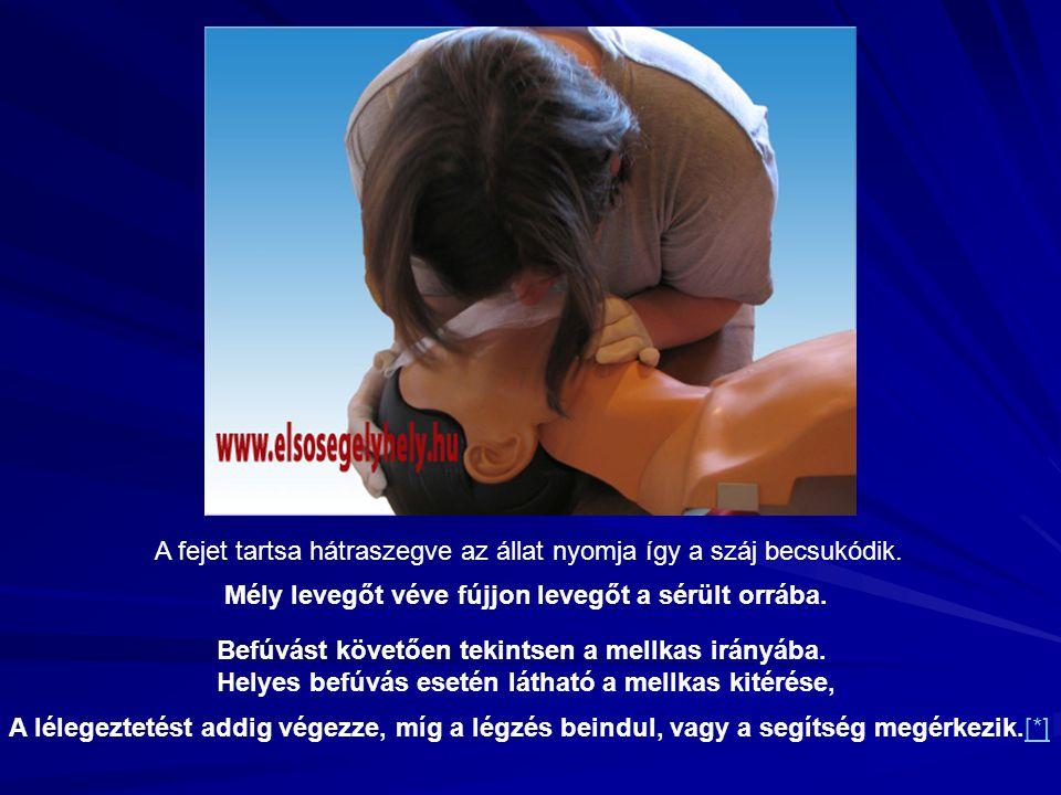 A fejet tartsa hátraszegve az állat nyomja így a száj becsukódik.
