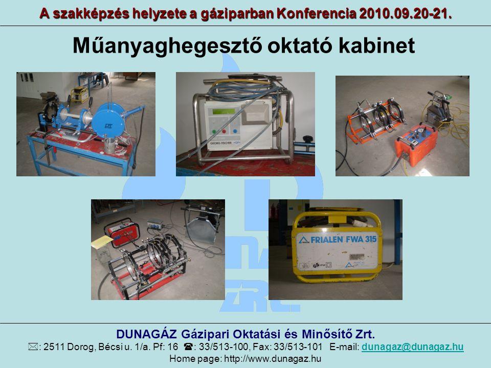 12/2004 GKM rendelet alapján szervezett képzések statisztikája 2006-2009 között A szakképzés helyzete a gáziparban Konferencia 2010.09.20-21.