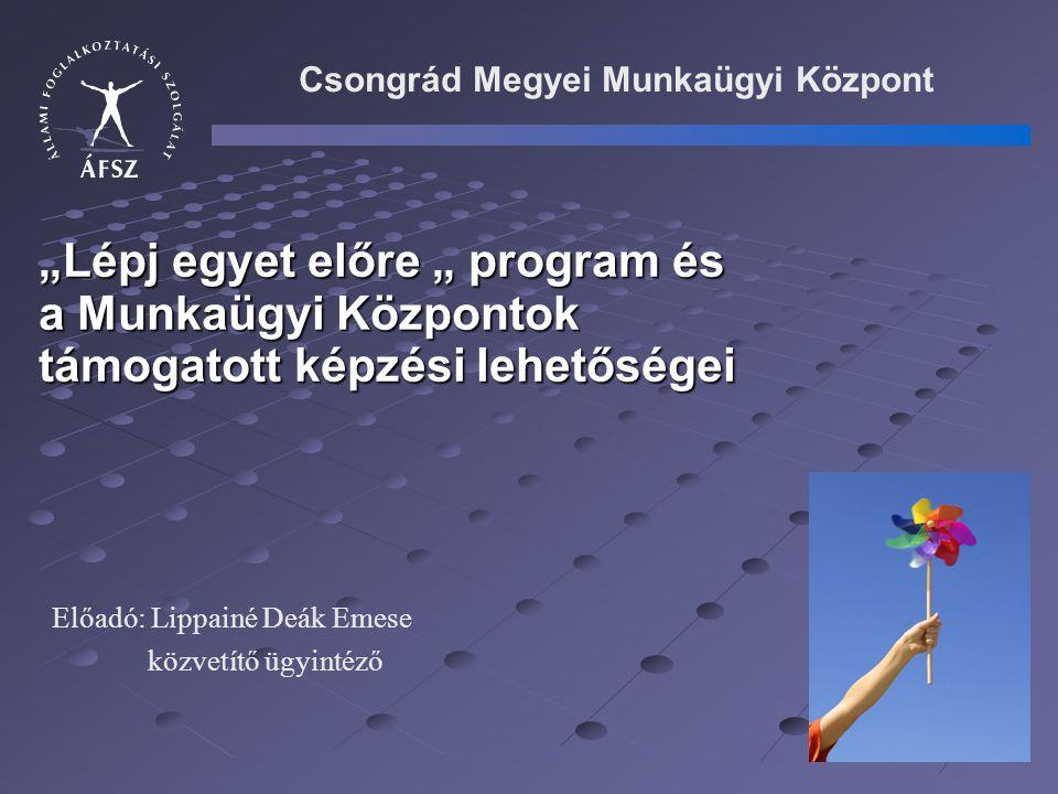 1.2.A regionális képző központ programjai ( 23/2005.(XII.26.) FMM rendelet) 1.2.1.