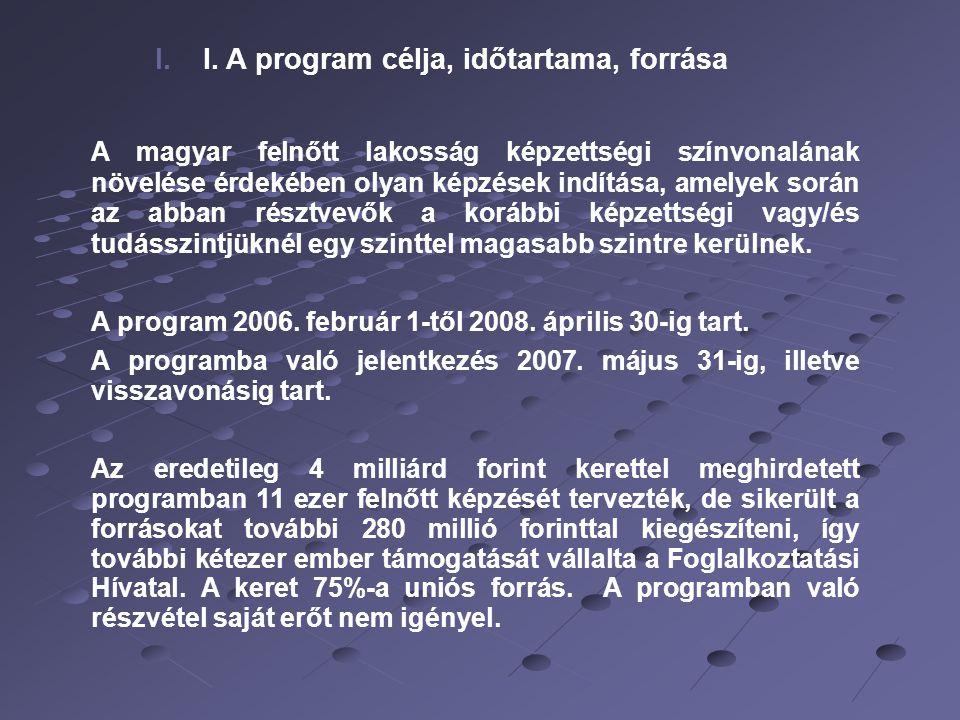 3 II.A programban résztvevők 1.