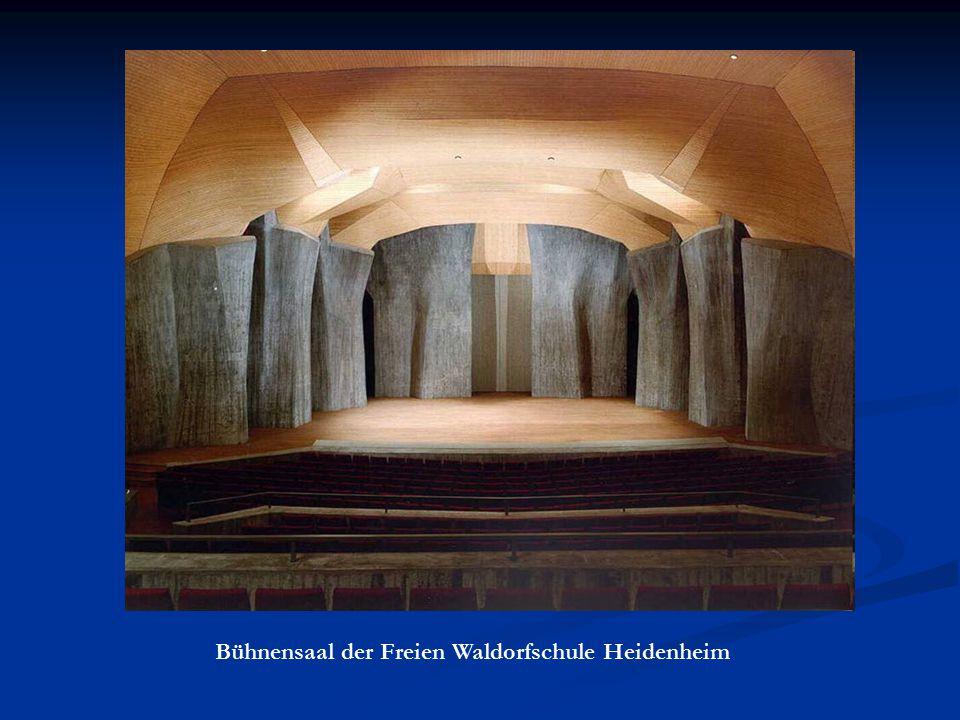 Bühnensaal der Freien Waldorfschule Heidenheim
