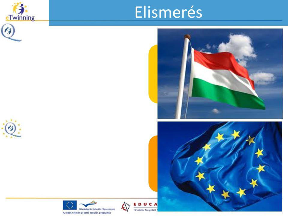 Minősített eTwinning projekt cím (hazai) Európai minősített eTwinning projekt cím Elismerés