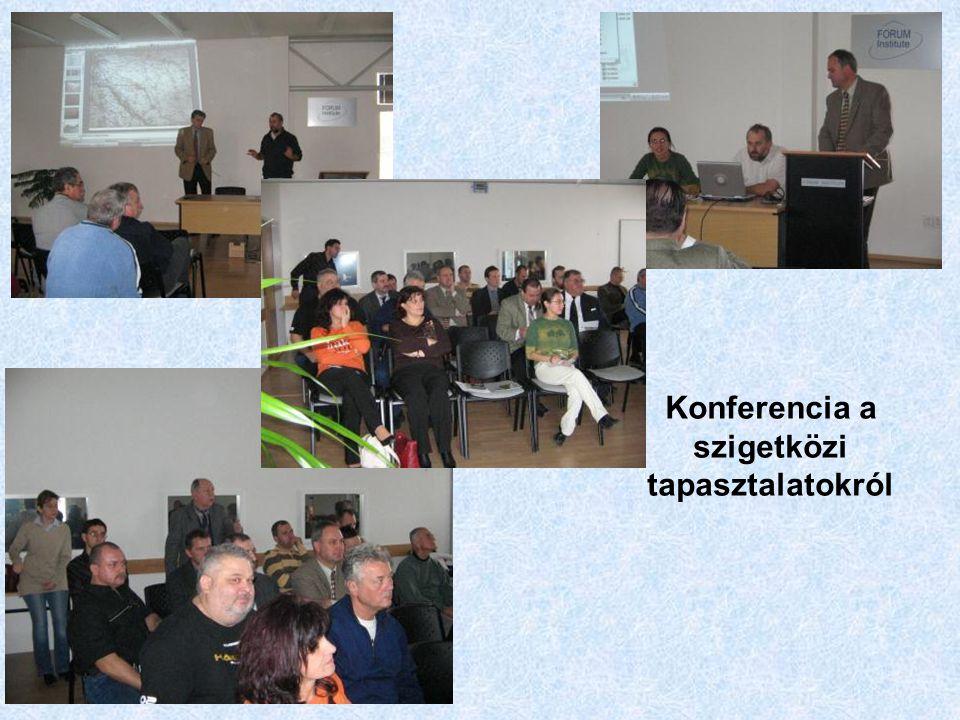 Konferencia a szigetközi tapasztalatokról