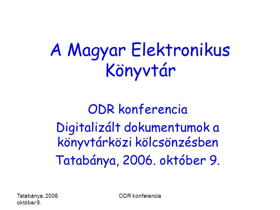 Tatabánya, 2006. október 9.