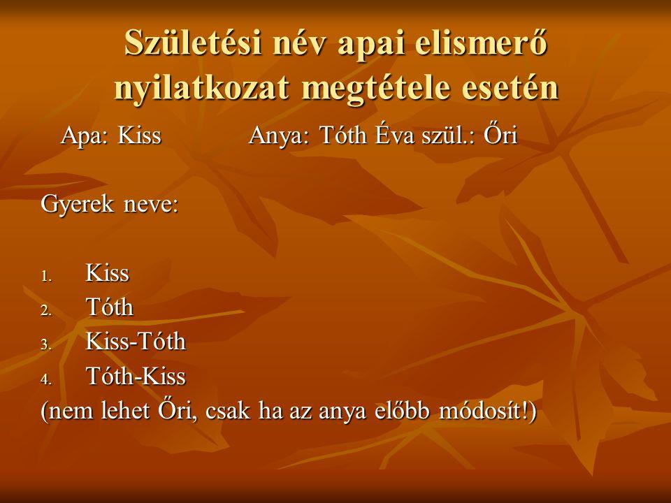 Doktori cím viselése 4.(feleség dr.) Tóth Béla és dr.