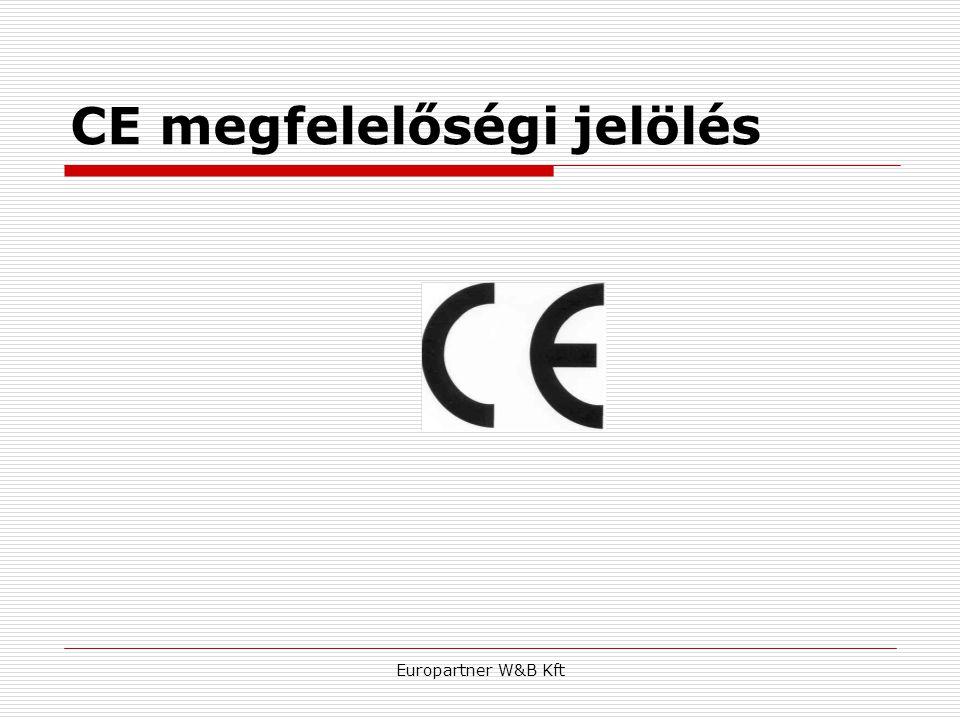 Europartner W&B Kft CE megfelelőségi jelölés