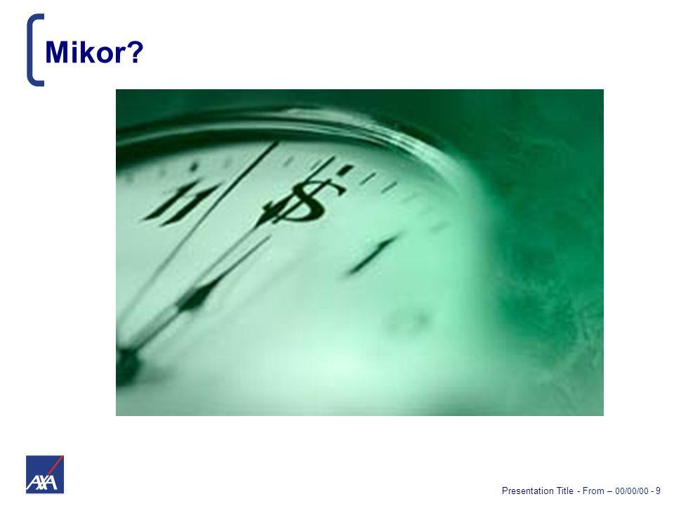Presentation Title - From – 00/00/00 - 40 Ha a tömeg megmozdul