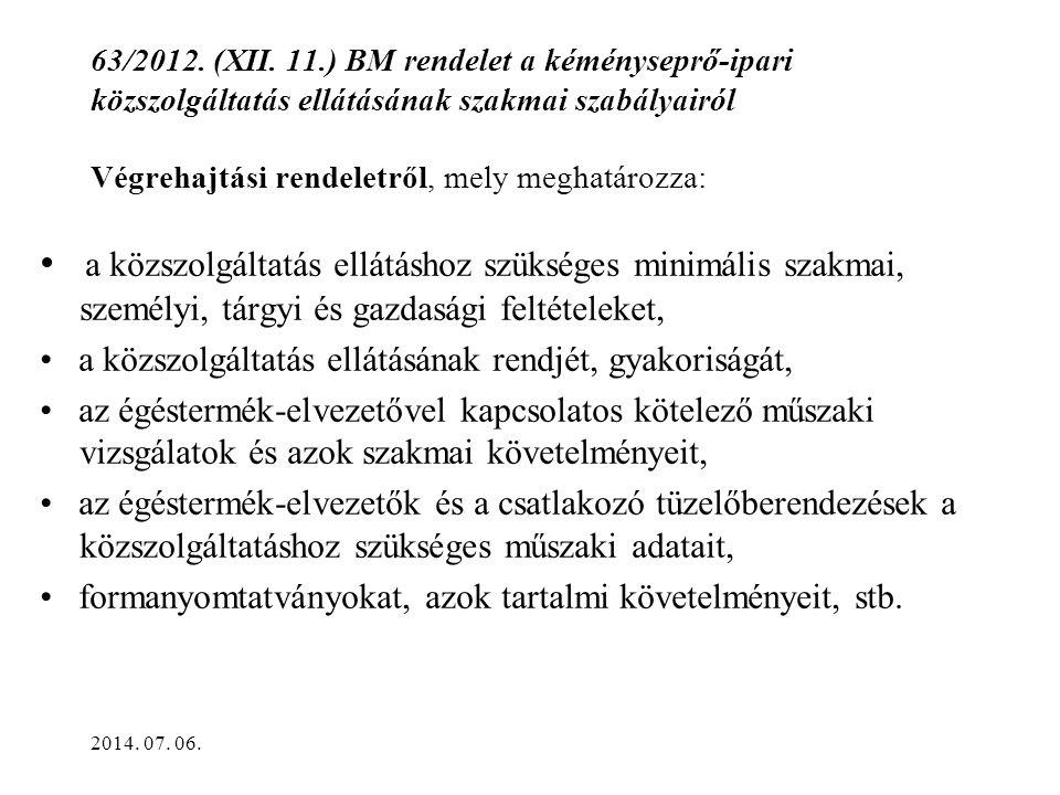 63/2012.(XII.