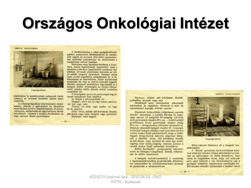 Dokumentáció folyamata KÖZSZÖV Szakmai Nap - 2010.04.14. UNIO HOTEL - Budapest
