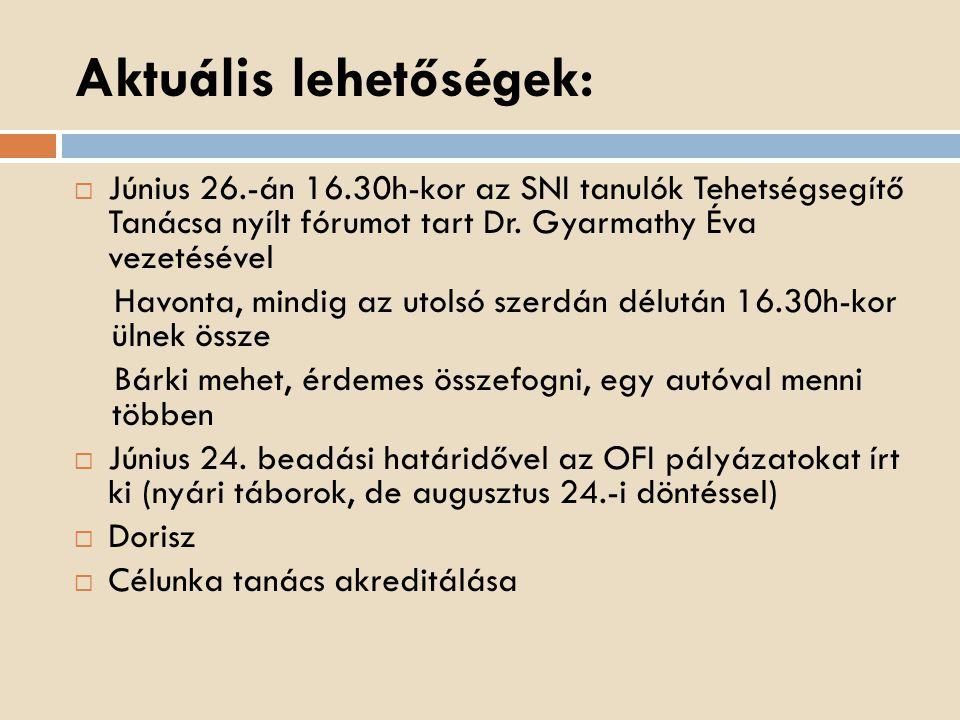 """BONIS BONA """"A nemzet tehetségeiért díj  """"Kiváló tehetséggondozók  """"Kiváló versenyfelkészítők  """"Kiváló Tehetségsegítők  www.tehetseg.hu/bonisbona www.tehetseg.hu/bonisbona  Magyarországi és határon túli magyar vagy magyarországi nemzetiségi köznevelés kereteiben oktatják, nevelik, segítik a gyerekeket"""