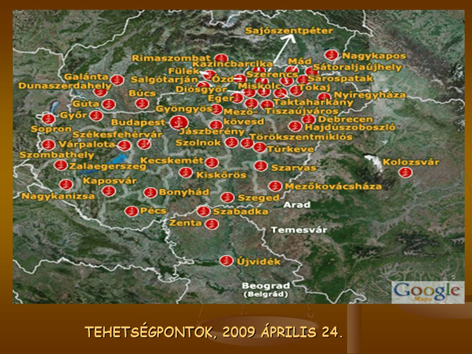 TEHETSÉGPONTOK, 2009 ÁPRILIS 24.