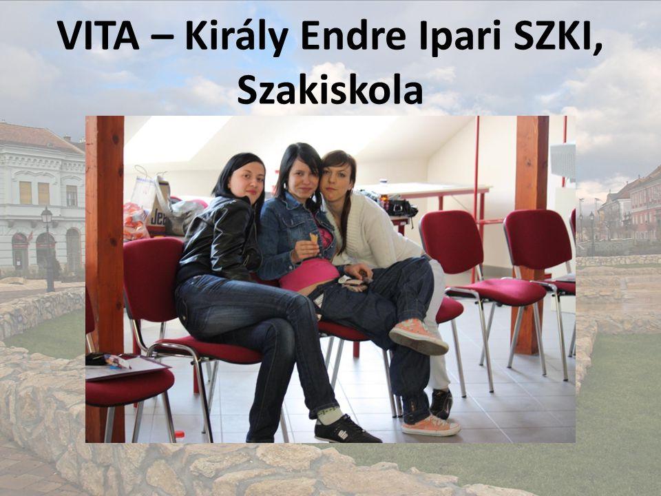 VITA – Király Endre Ipari SZKI, Szakiskola