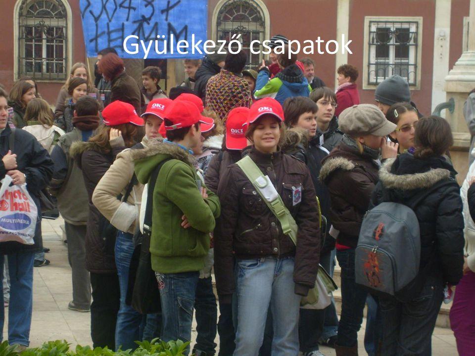 Gyülekező csapatok