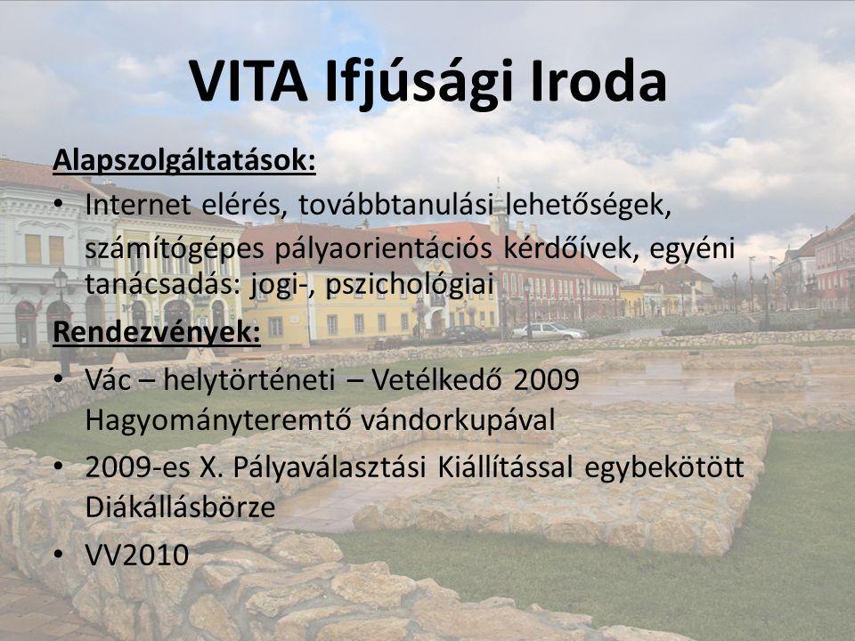 VITA – I. Géza Király Közgazdasági SZKI, Karacs Teréz Kollégium