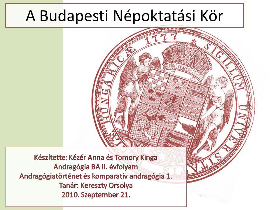 A Budapesti Népoktatási Kör