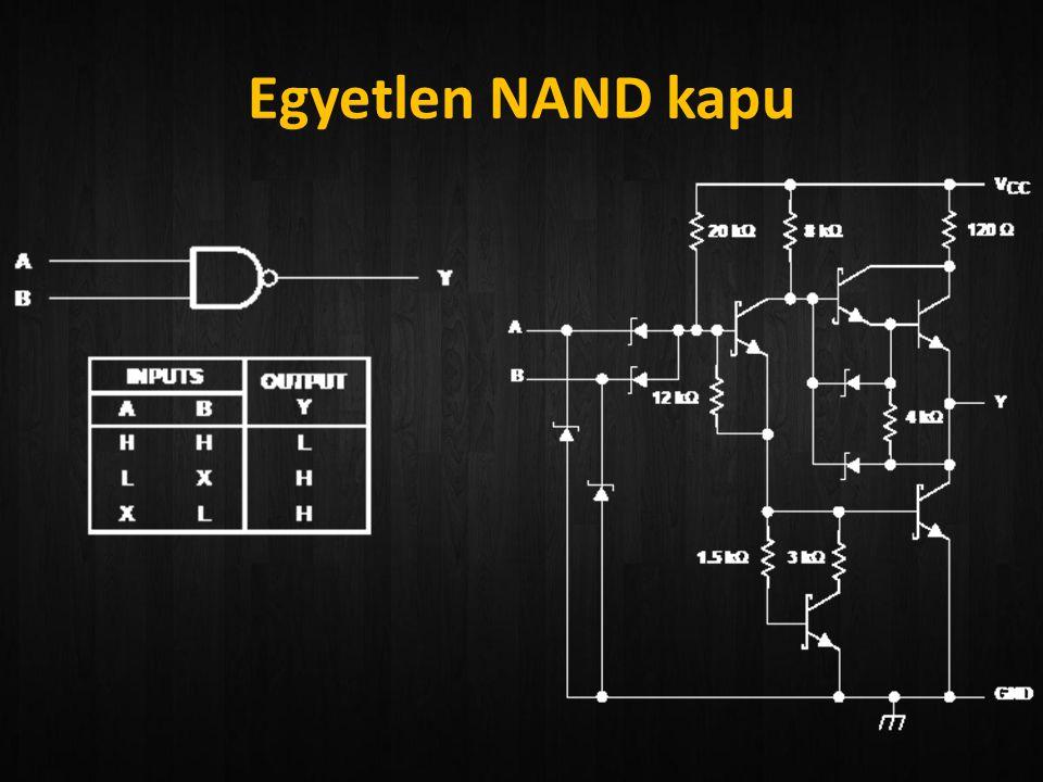 Egyetlen NAND kapu